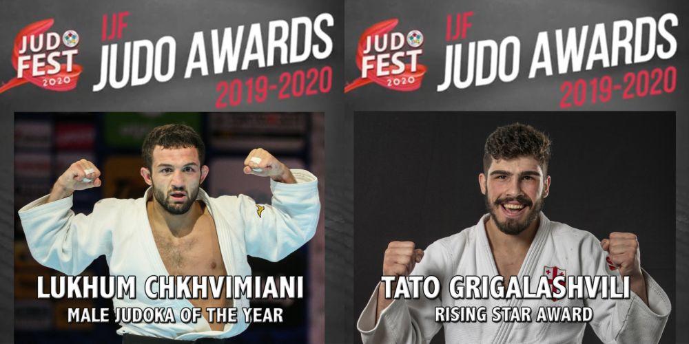 Lukhum Chkhvimiani and Tato Grigalashvili won IJF awards
