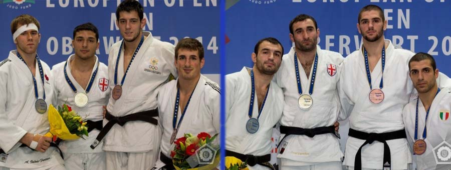 Rekhviashvili and Gogocuri won GOLD