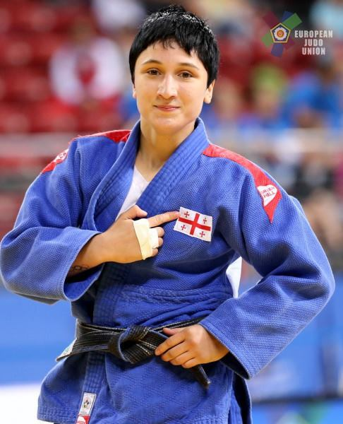 Mzia Beboshvili is the European Champion