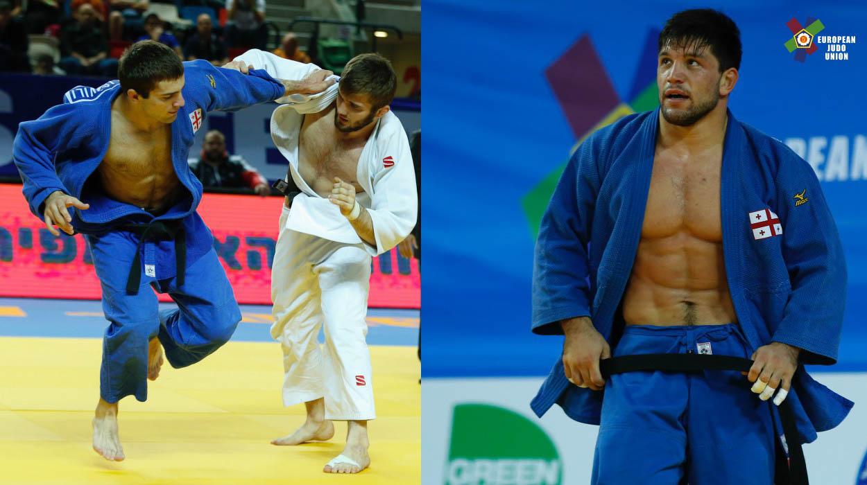 Mchedlishvili and Gviniashvili are the European Champions