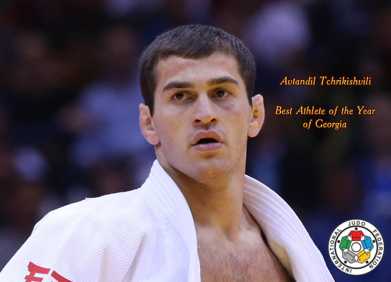 Avtandil Tchrikishvili - Best Athlete of the Year of Georgia