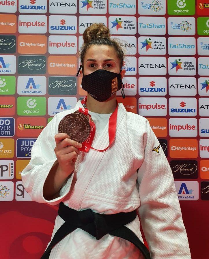 Historic medal in Grand Slam