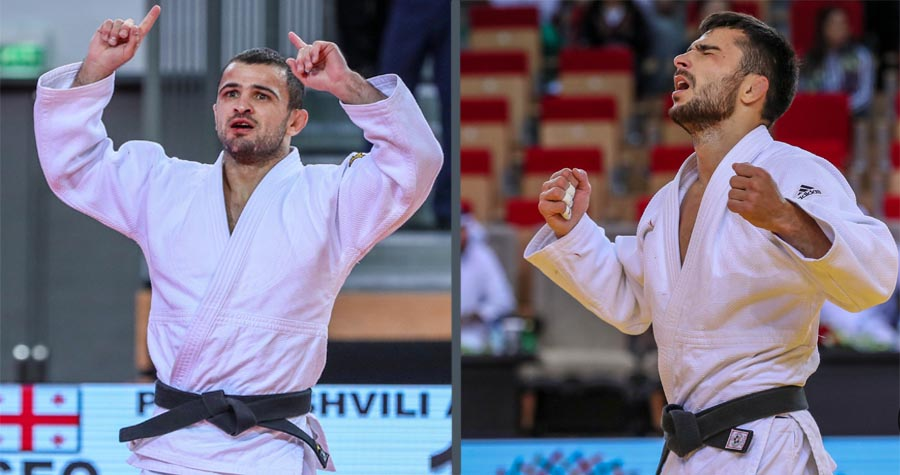 2 Gold in the Abu Dhabi Grand Slam