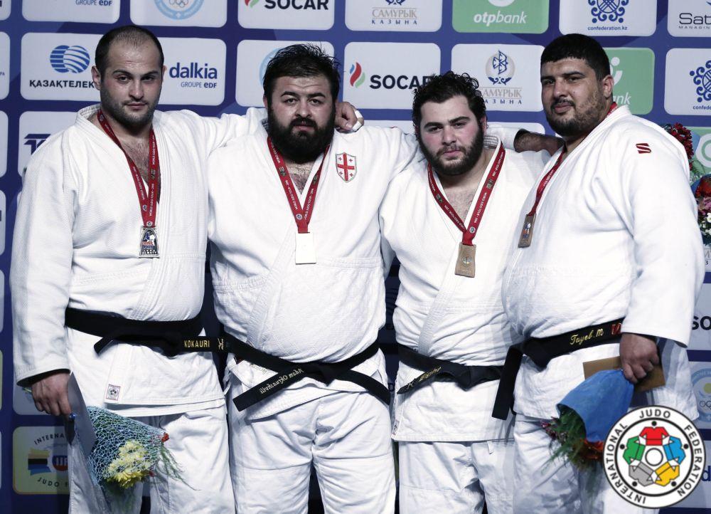 2 Gold and 2 Bronze in Almaty Grand Prix