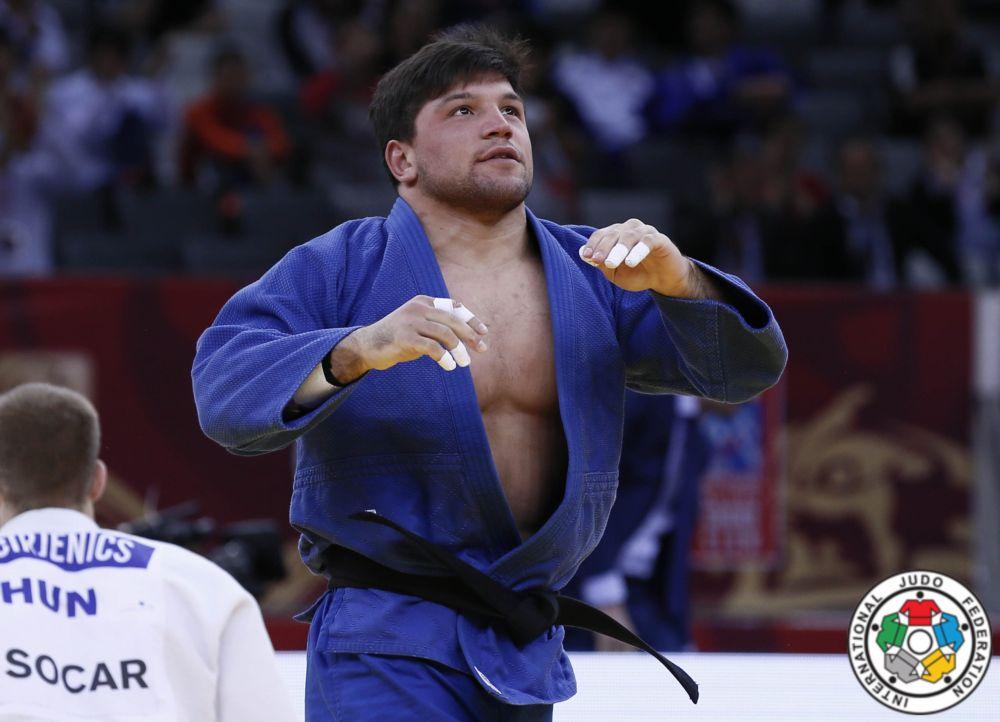 Beka Gviniashvili won Baku Grand Slam