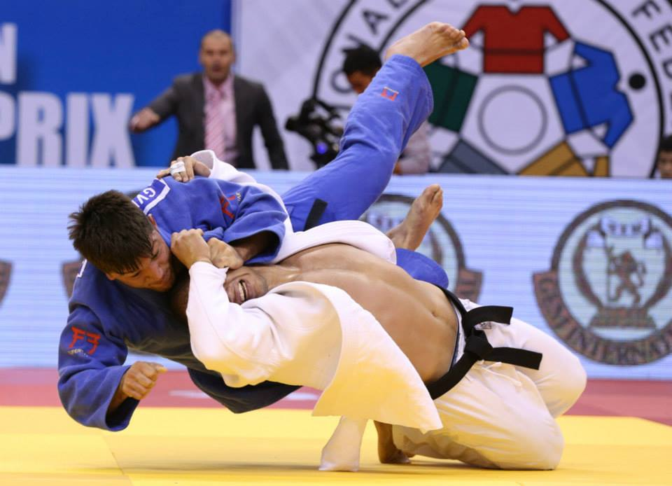 Beka Gviniashvili is the winner Ulaanbaatar Grand Prix