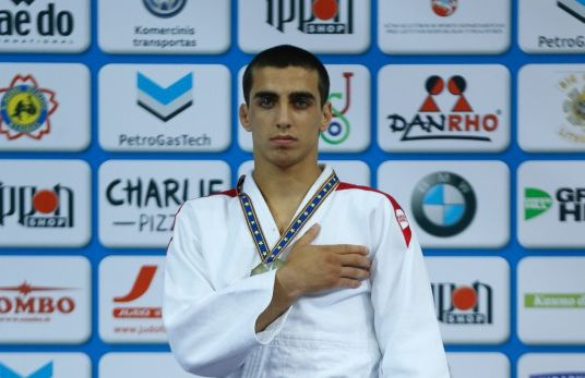 Mikheil Bakhbakhashvili is the European Champion