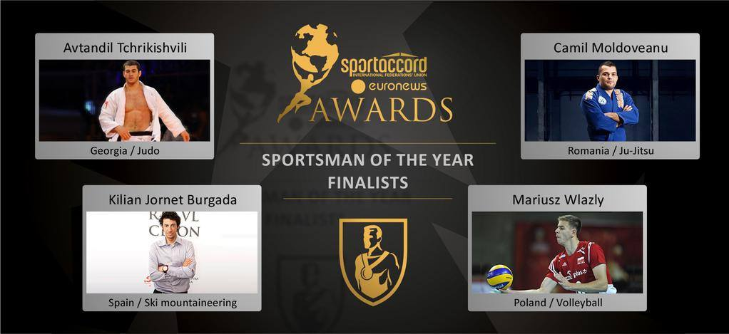 Tchrikishvili have made the finals of the SportAccord Awards