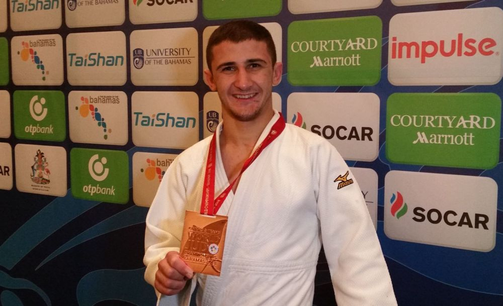 Jaba Papinashvili's Bronze in the World Championships