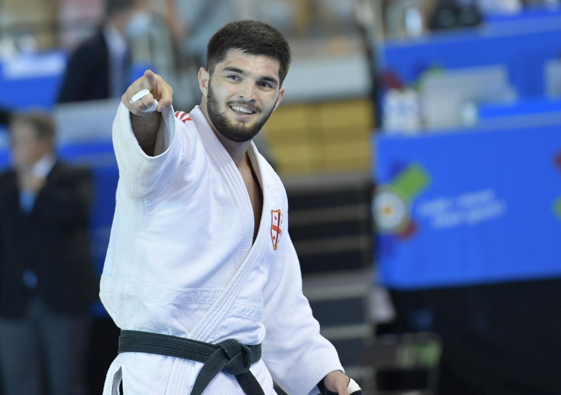 Nika Kharazishvili is the European Champion