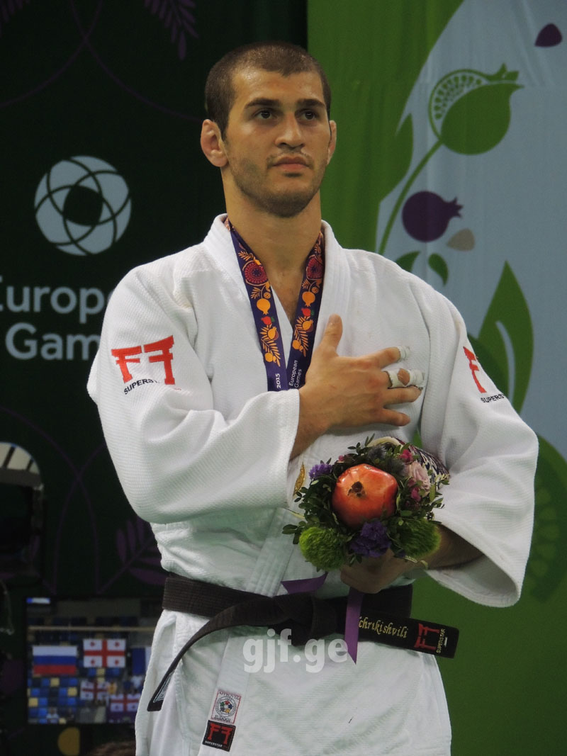 Avtandil Tchrikishvili  Won European Games