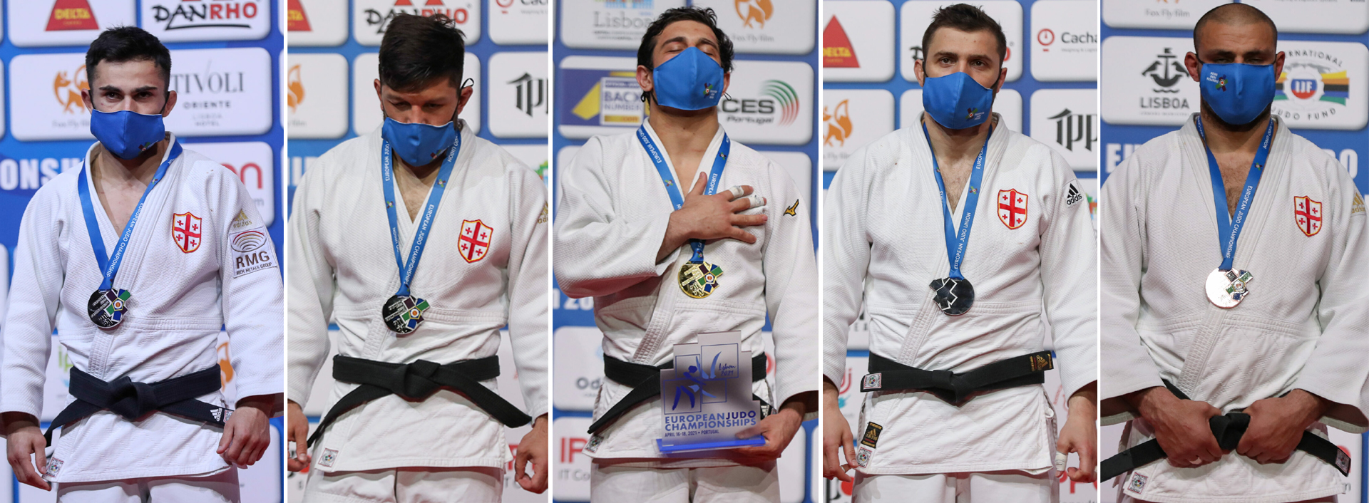 5 medals in the European Championships