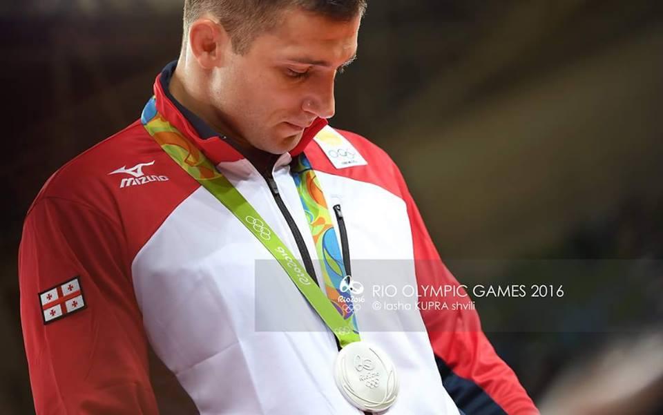 Varlam Liparteliani won Silver