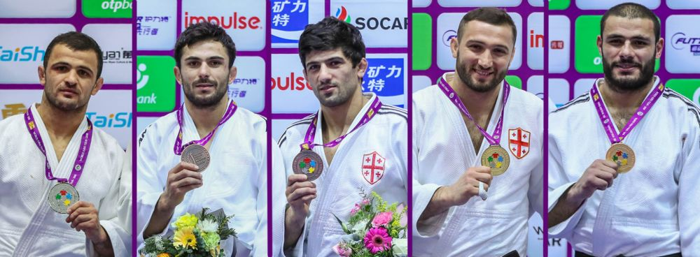 2 Gold, 1 Silver and 2 Bronze in the Masters