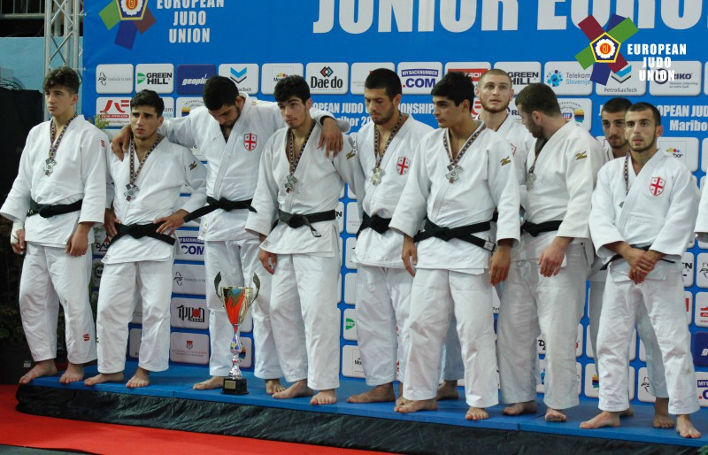 Junior Team in the European Championships 2017