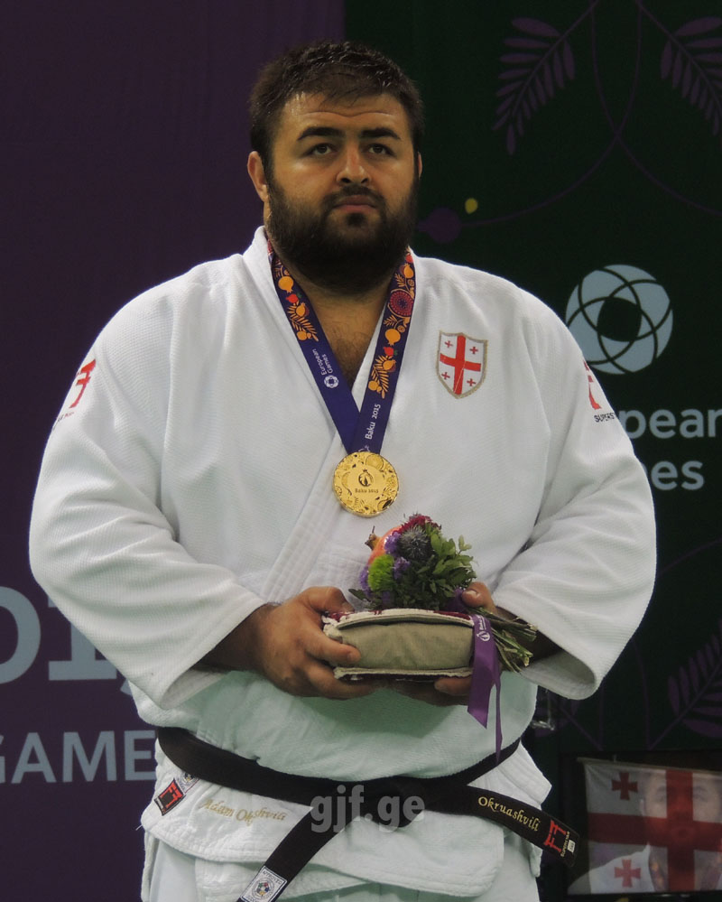 Adam Okruashvili Won European Games